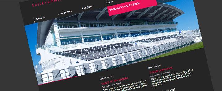Launch Of New Site - News - BAILEYGOMM