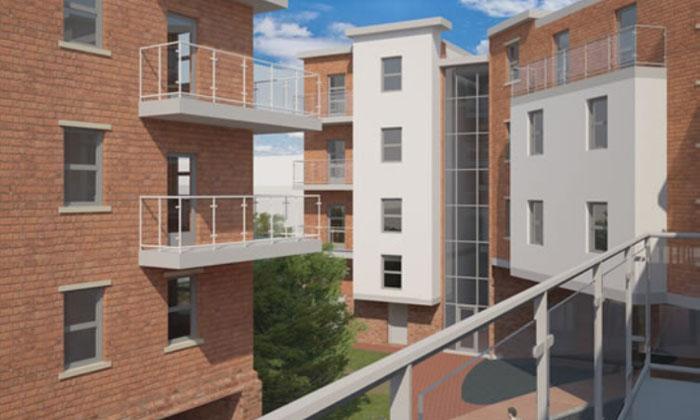 Denton Holme Student Residential Scheme - Universities - BAILEYGOMM