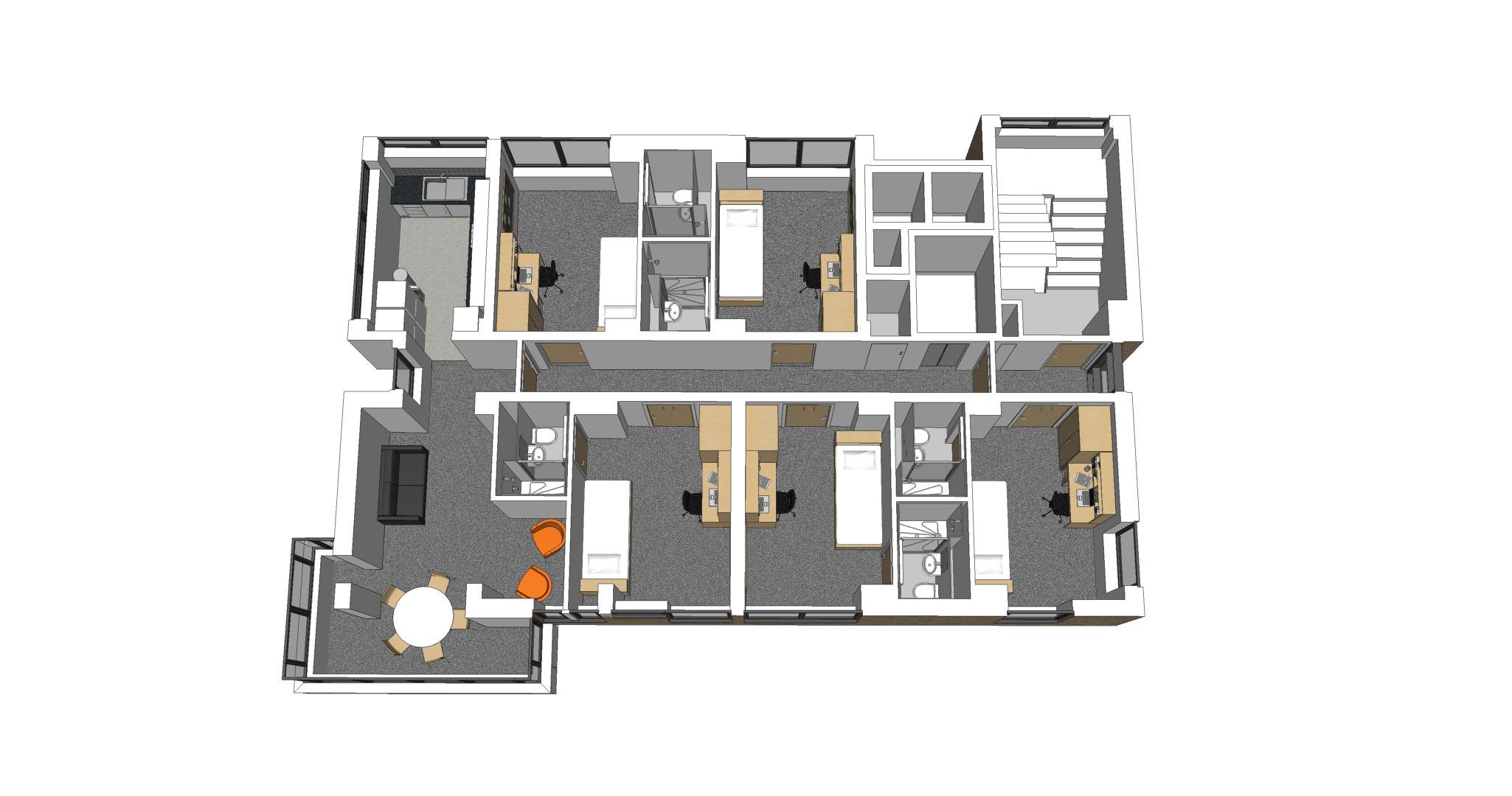 Lancaster Residence Refurbishment - Universities - BAILEYGOMM